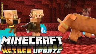 Minecraft 1.16 NETHER UPDATE! - Piglin Beast, Biomes, Food & MORE! (New Features)