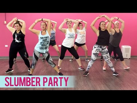 Britney Spears - Slumber Party ft. Tinashe (Dance Fitness with Jessica)