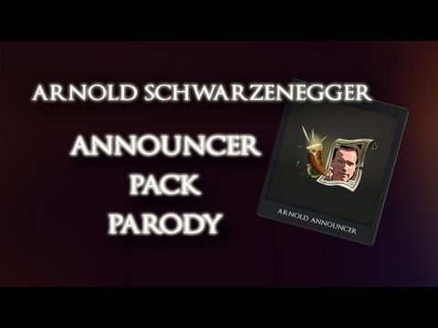 Arnold Announcer Pack Parody