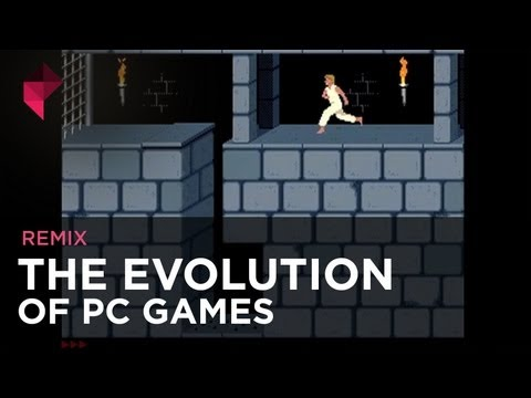 Image of Evolution of PC Games - Video Clip