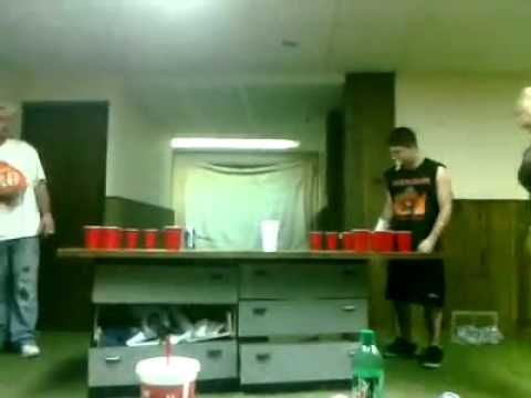 Funny Beer Pong Fail