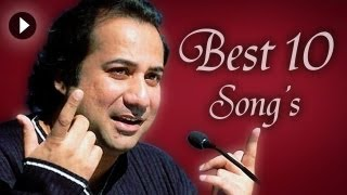 Best Top Sad Songs   Best 10 Rahat Fateh Ali Khan Songs