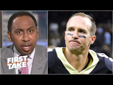 Video: 'Can I get some defense, New Orleans?' - Stephen A. is tired of Drew Brees' heroics | First Take