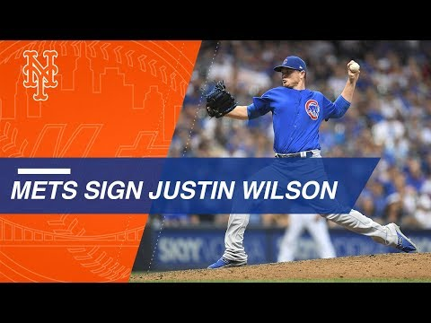 Video: Lefty reliever Justin Wilson hits free-agent market