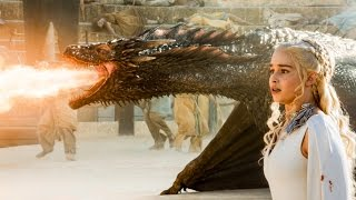 "Spoiler Alert** From Game of Thrones Season 5 Episode 9 - ""The Dance of Dragons"" The Final Scene. Drogon to the Rescue!"