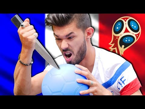 UN BALLON DE FOOT INDESTRUCTIBLE ! (COUPE DU MONDE 2018)