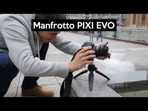 Manfrotto PIXI EVO   das Mini-Stativ mit den versteckten Features   VLOG-tripod