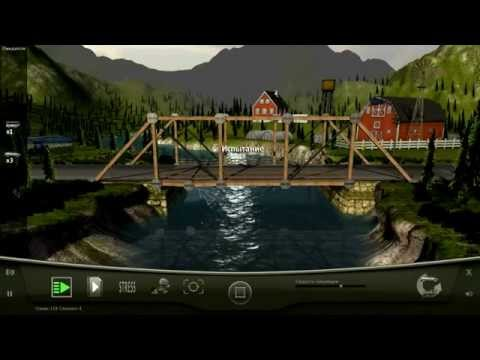 Bridge Project - обзор игры. Инженерно-физическая головоломка.