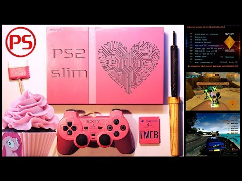 Розовая PlayStation 2, снова в цвете (хвала FMCB!)