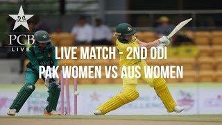 Live Match - 2nd ODI: Pakistan Women vs Australia Women, Kinrara Academy Oval Kuala Lumpur