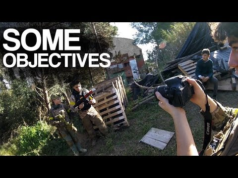 Frases celebres - SOME OBJECTIVES  Campo Manau  Centuries Airsoft Team