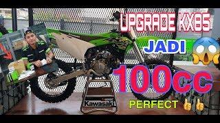 9. KAWASAKI KX85 DI UPGRADE JADI KX 100cc. PERFECT ��