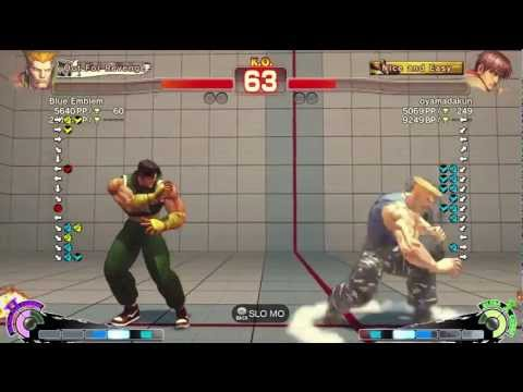 Guile - Exclusive Endless Lobby Matches* ACE・EIRIN = blue emblem (#3 Guile in Japan arcade BP card system) Oyamadakun (Arcade player, has around 30k BP) Follow me o...