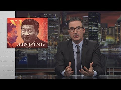John Oliver on Chinese President Xi Jinping