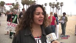 Trabajadores de hoteles marchan en Santa Mónica - Noticias 62 - Thumbnail