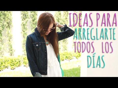 IDEAS PARA ARREGLARTE TODOS LOS DÍAS ♥ - Yuya видео