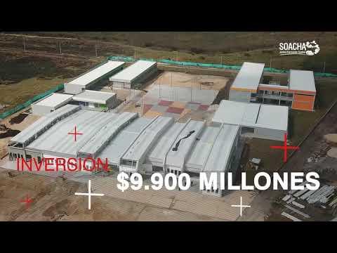 Avance de megacolegios en Soacha - Obras que Forman Ciudad