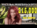 How To Earn Money Online For Free - Make $15,000 Per Month Online