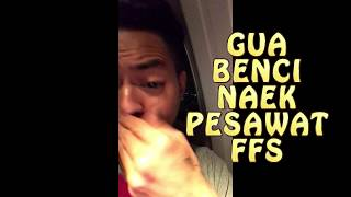 Video Main Gim Di Pesawat Dan Menyesal - Dino Gugel Krom MP3, 3GP, MP4, WEBM, AVI, FLV Oktober 2017