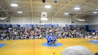 2011 FUHS Senior Boy Cheerleaders