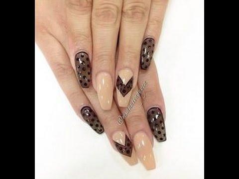 nail art-effetto calza velata!