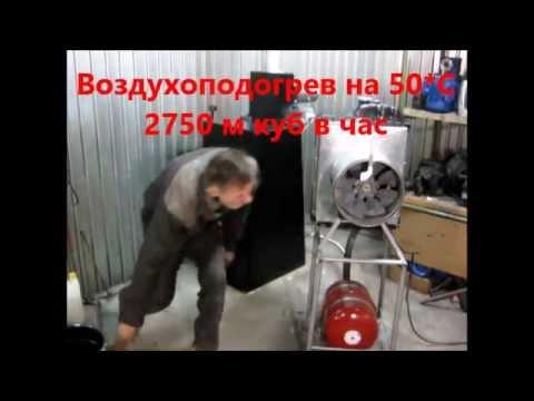 Видео теплогенератор своими руками
