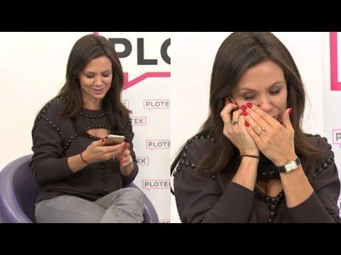 Córka Kingi Rusin zadzwoniła podczas wywiadu na żywo