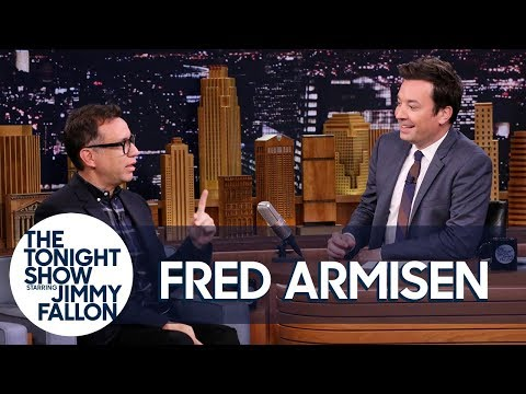 Fred Armisen and Jimmy Have a Nonsense Interview