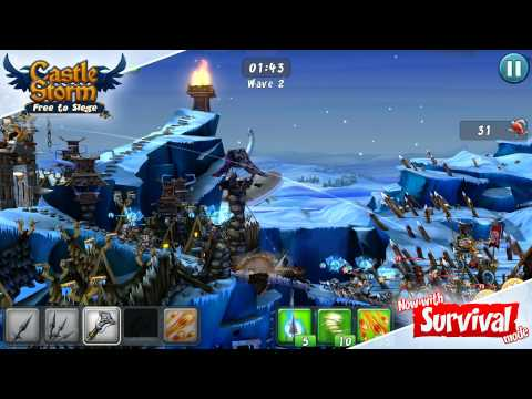 Video of CastleStorm - Free to Siege