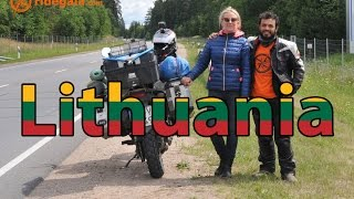 Ep 13 - Lithuania - Motorcycle Trip around Europe