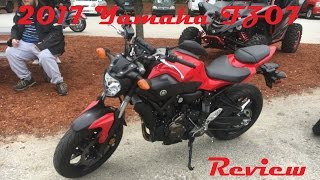 8. 2017 Yamaha FZ-07 Review