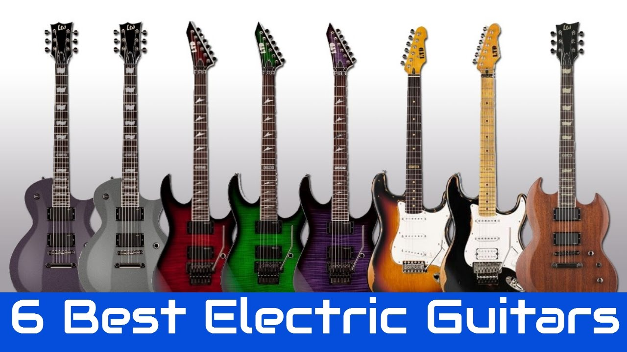 6 Best Electric Guitars 2017 | Best Electric Guitar Reviews