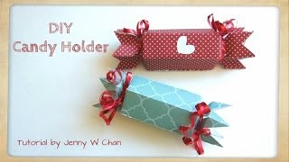 Video Valentine's Day Crafts - DIY Paper Candy Holder & Treat Roll Box for Birthday Party Favors MP3, 3GP, MP4, WEBM, AVI, FLV Desember 2018