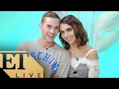 ET LIVE with Adam Rippon & Jenna Johnson