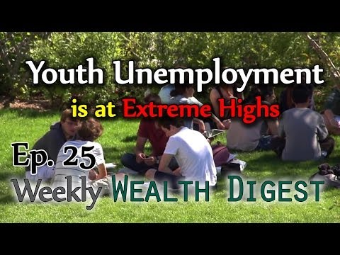Youth Unemployment is at Extreme Highs – WWD Ep. 25 (Weekly Wealth Digest)