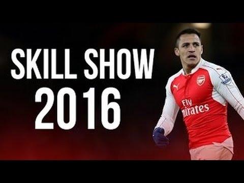 Alexis Sanchez   Crazy Skills  2016 HD