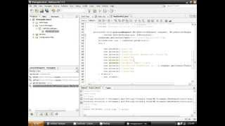 This is how to make a servlet in netbeans.
