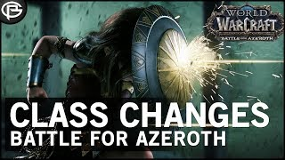 Class Changes: Battle for Azeroth
