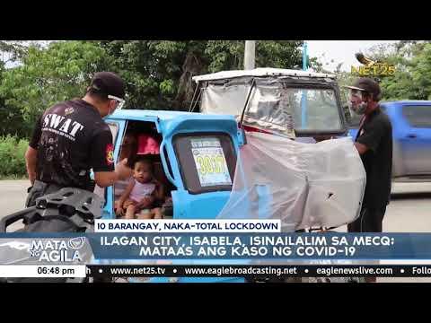 Ilagan City, Isabela, isinailalim sa MECQ; mataas ang kaso ng COVID-19