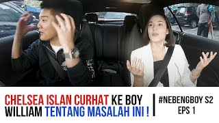 Video Chelsea Islan curhat ini ke Boy William! - #NebengBoy S2 Eps. 1 MP3, 3GP, MP4, WEBM, AVI, FLV Desember 2018