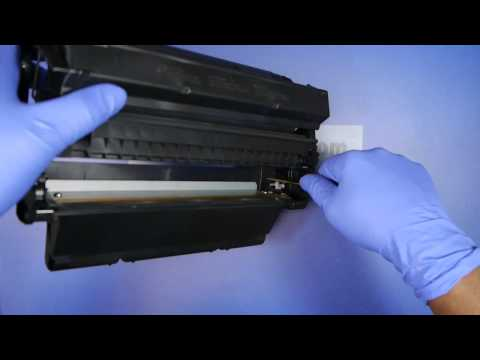 HOW TO REFILL HP C4127A 27A Toner LaserJet 4000 4050