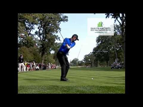 Justin  Rose Golf Swing HD & 300 FPS Ryder Cup 2012