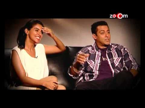 Salman and Asin in a candid rendezvous