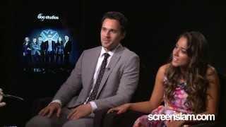Agents Of S.H.I.E.L.D: Brett Dalton And Chloe Bennet Exclusive Interview