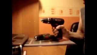 Bosch PSB и GSB 10 8   00 звук двигателя