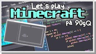 LP Minecraft på 90gQ #167 - PROGRAMMERAT EN SIMULATOR!