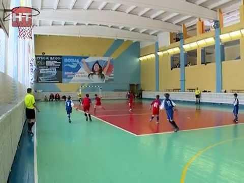 В Великом Новгороде прошли игры областного этапа общероссийского спортивного проекта «Мини-футбол в школу»