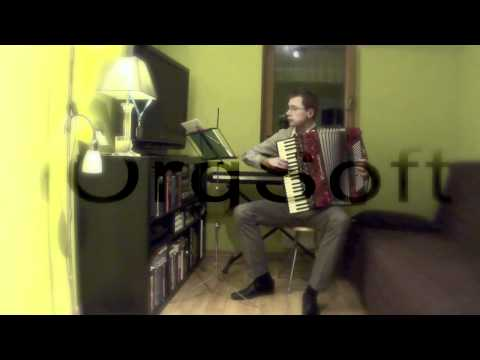 Simon Accordionist - Vienna Blood Waltz (Johann Strauss Jr).mov