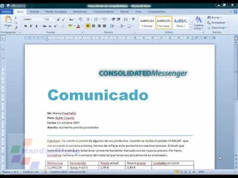 0 Video Tutorial, Curso de Microsoft Word 2010