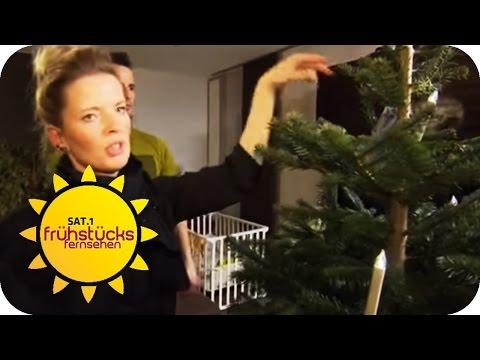 Weihnachtsbeleuchtung im Test | SAT.1 Frühstücksfernsehen